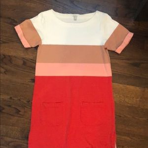 J.Crew short sleeved cotton dress